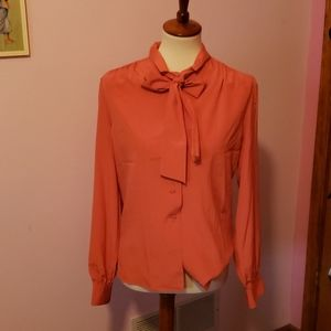 Vintage Adolph Schuman for Lilli Ann Top size L